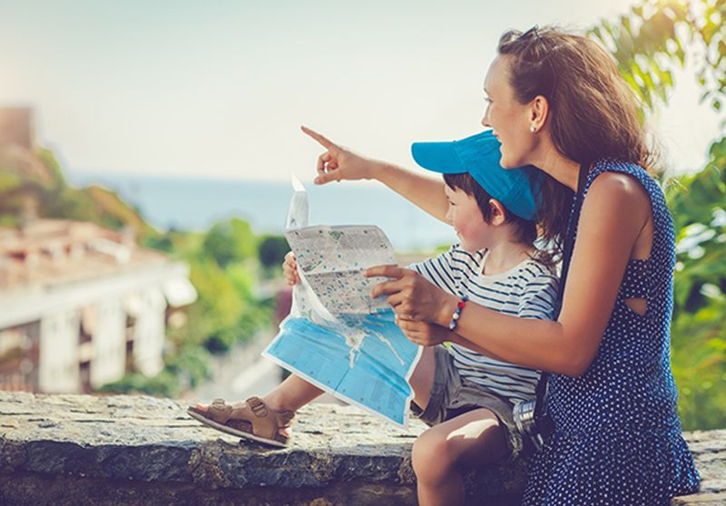 When Mothers Travel With Children